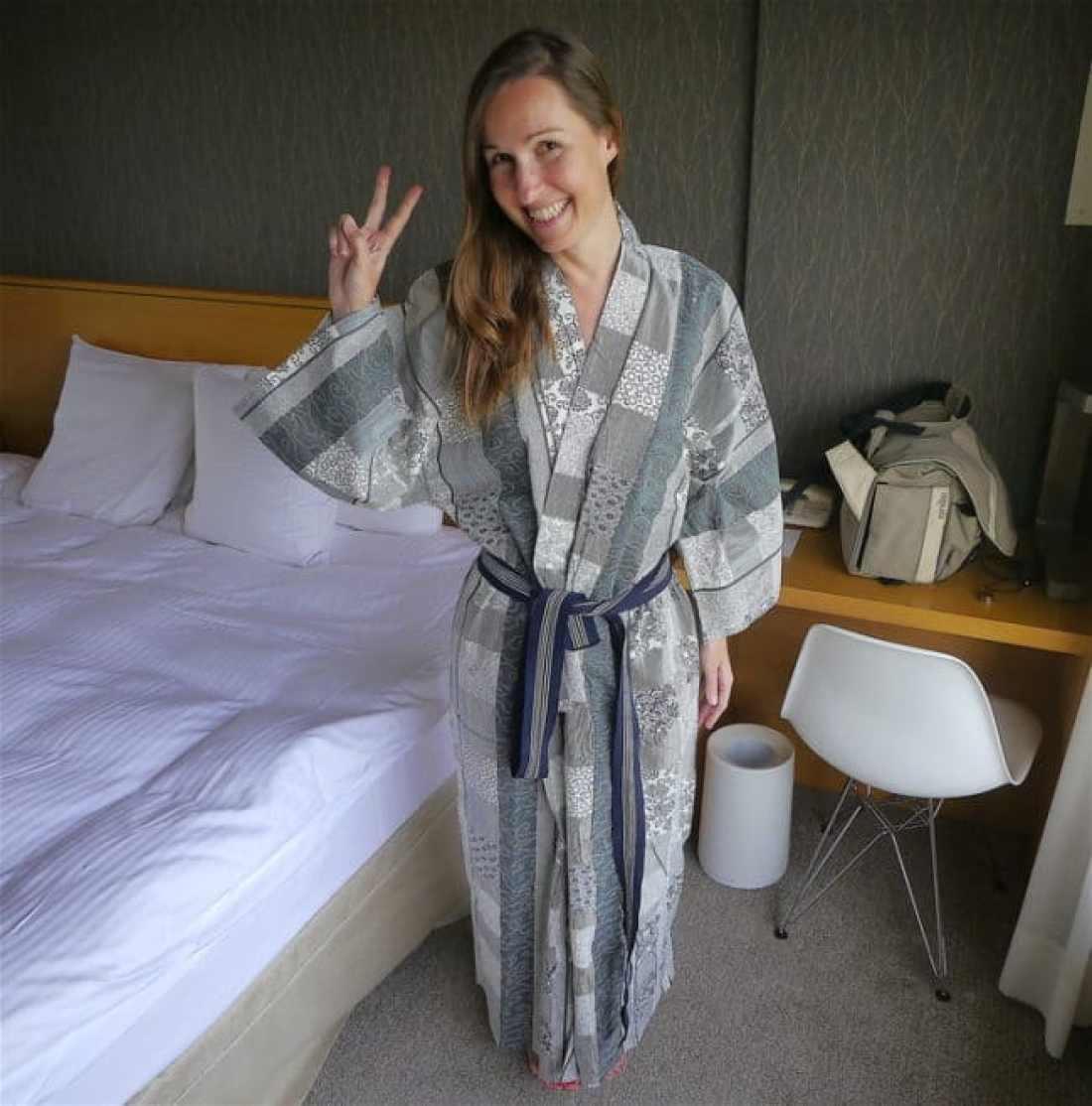 """Onsen spa bathrobe"""