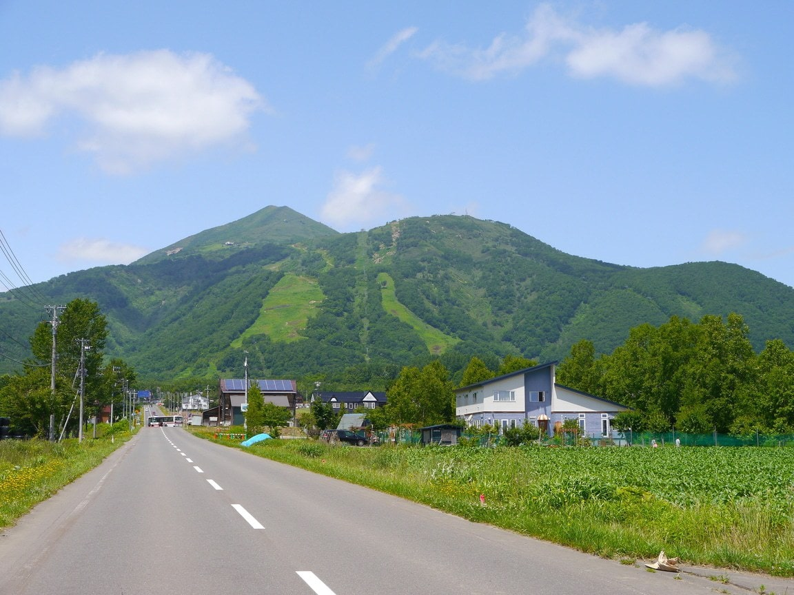 Niseko ski resort area