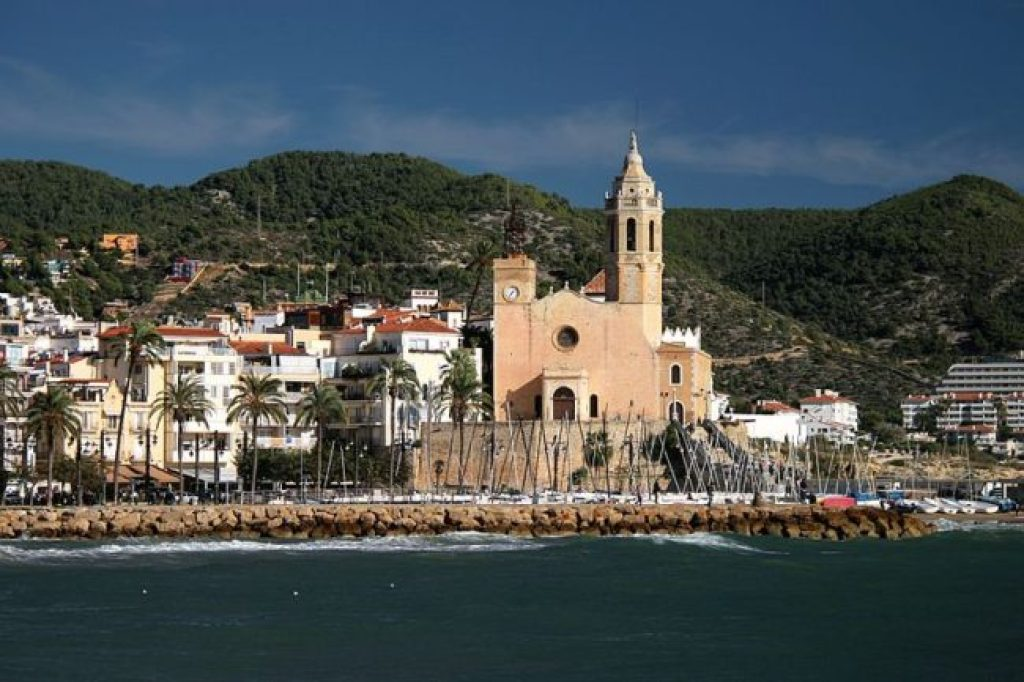 """Sitges Church"" day trips from Barcelona"