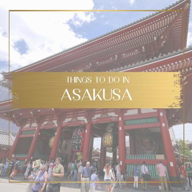 Things to do in Asakusa feature