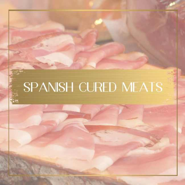 Spanish cured meats feature