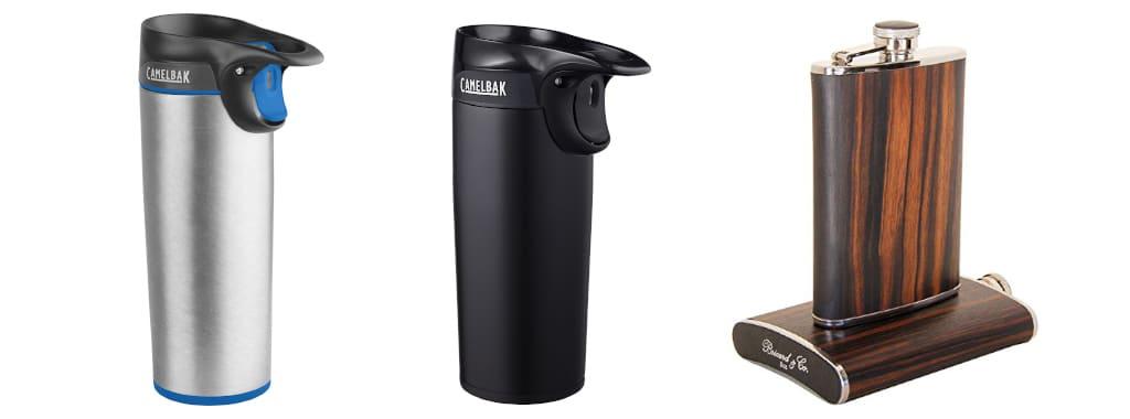 Flask and Mug