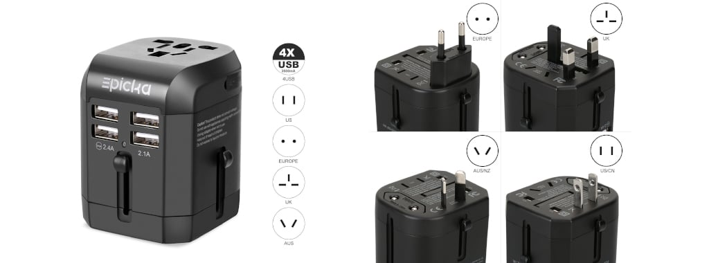 Multi-plug Charger