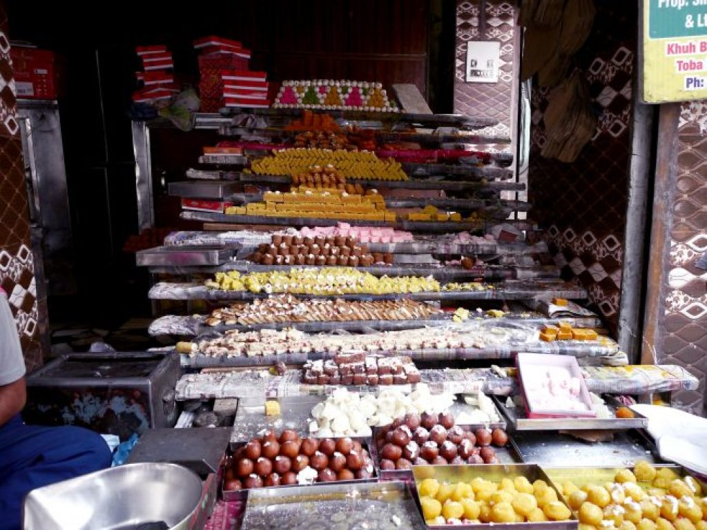 Sweets vendor in Amritsar