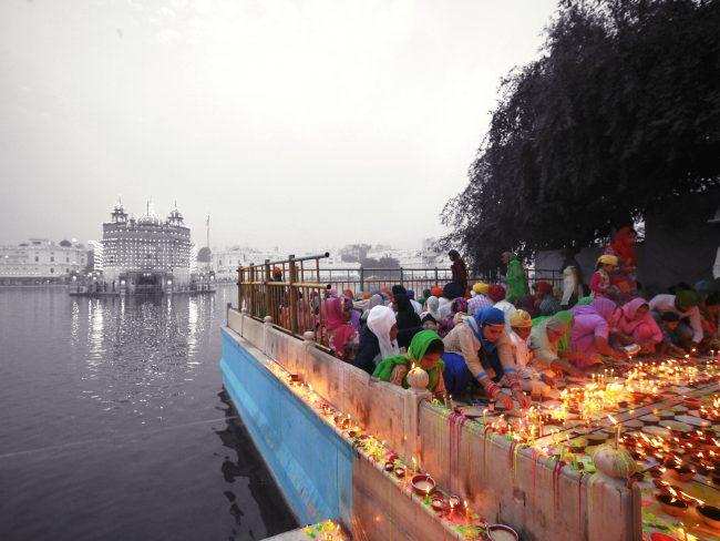 """Dukh Bhanjani Beri in The Golden Temple Amritsar'"
