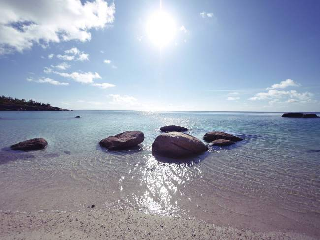 """Beach on Lizard Island"""