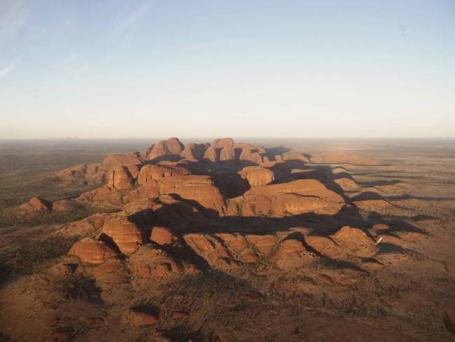 """""""Kata Tjuta from the helicopter ride"""""""