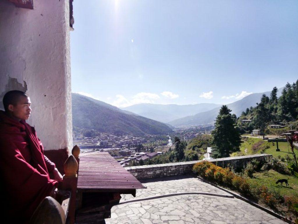 Facts About Bhutan in Dechenprodrang Monastery