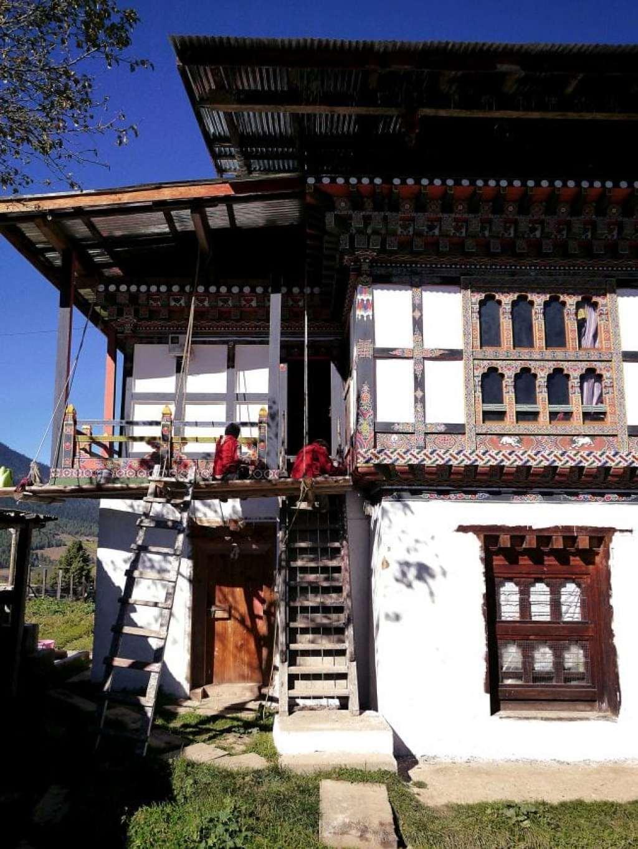 Gangtey village
