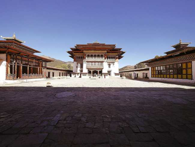 """Gangtey Monastery'"