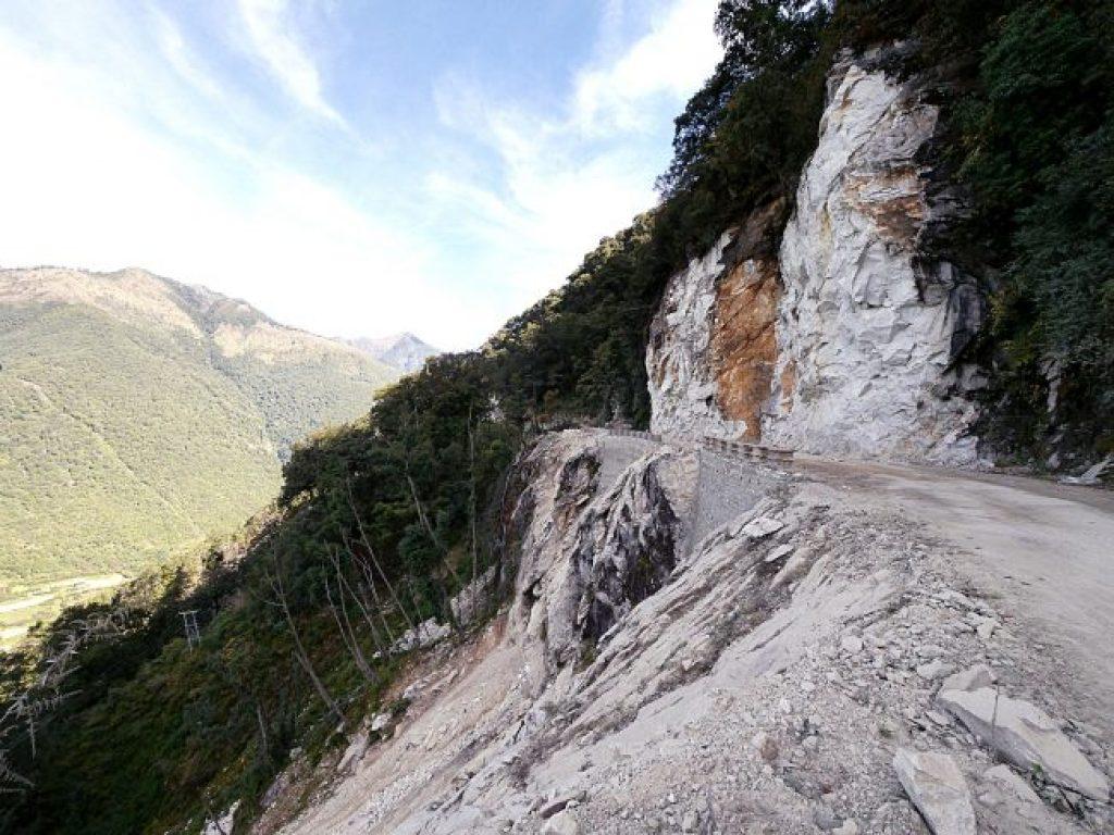 Bhutan's crazy roads