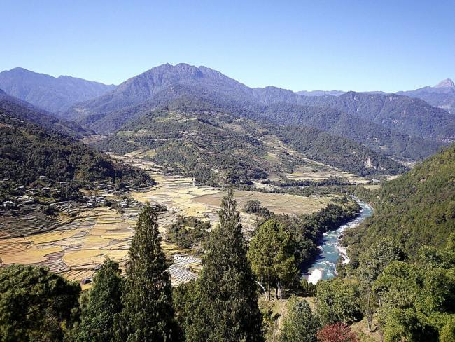 """Punakha valley'"