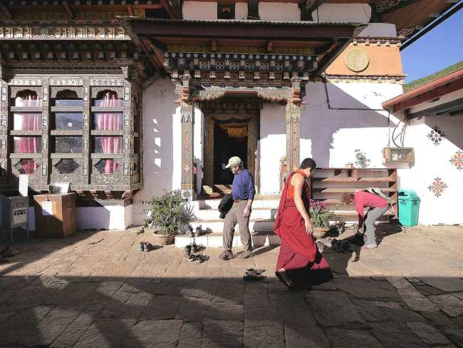 """Fertility temple Chimi Lhakhang'"
