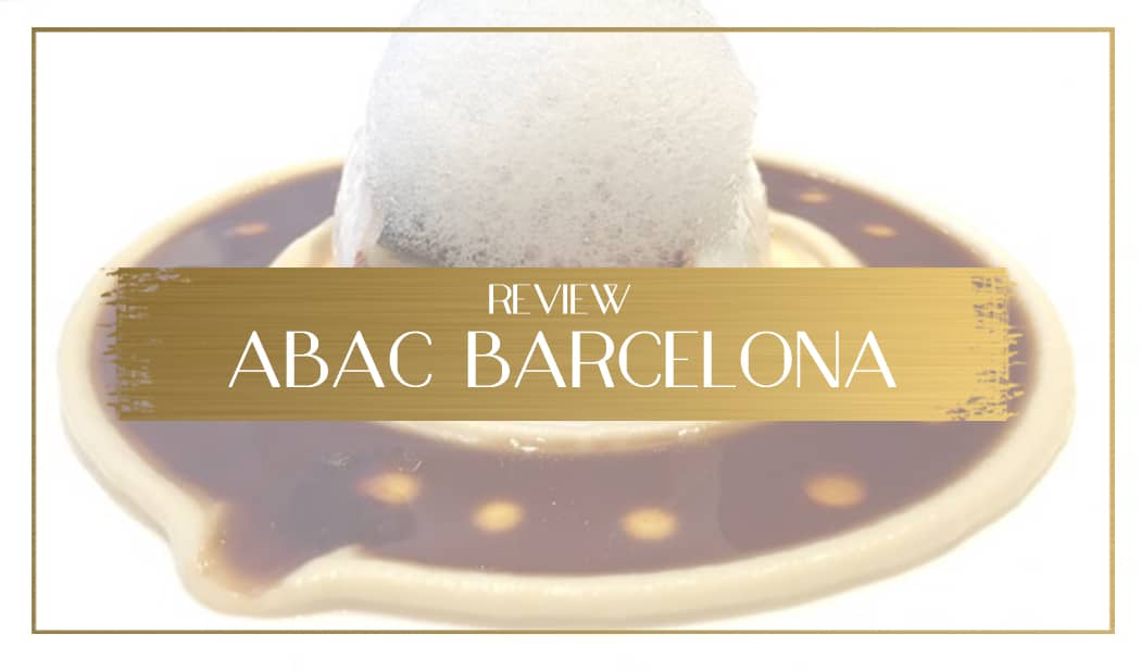 Abac Restaurant Review
