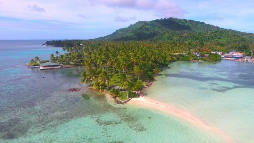Chuuk aerial photo