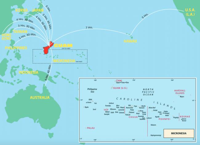 """""""Map of Guam"""""""