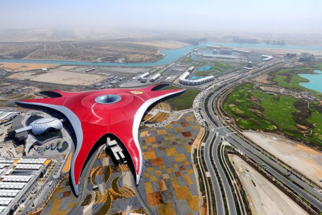 Ferrari Theme Park on Yas Island