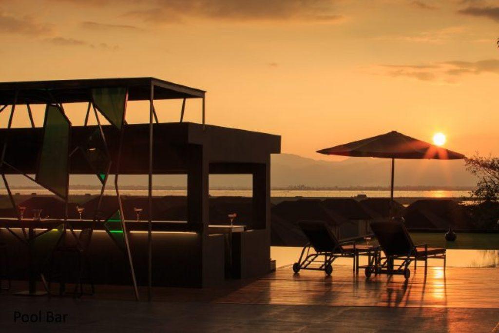 Sunset at the Novotel Inle Lake Myat Min