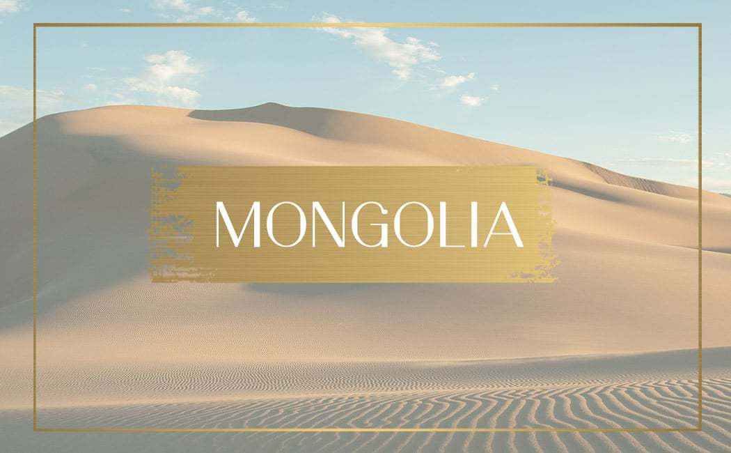 Destination Mongolia