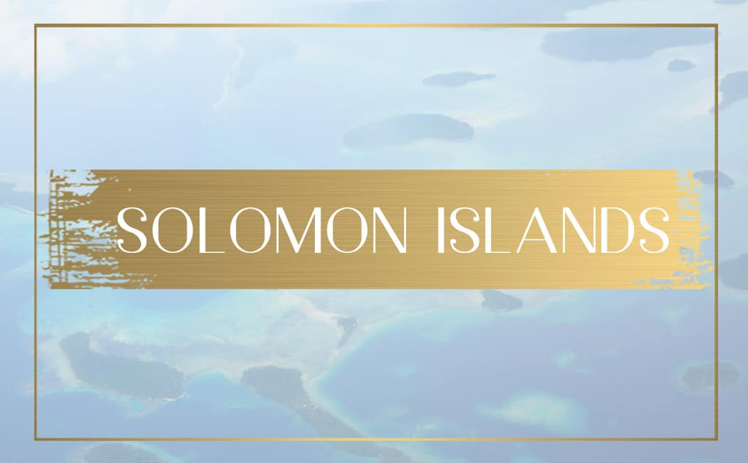 destination Solomon Islands