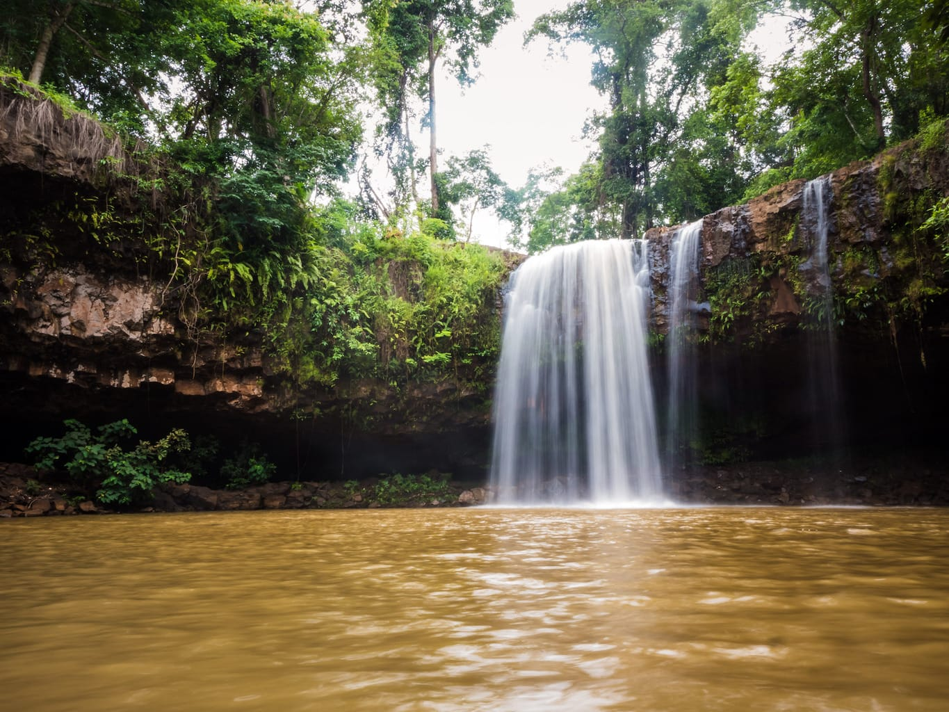 Waterfall in Ratanakiri