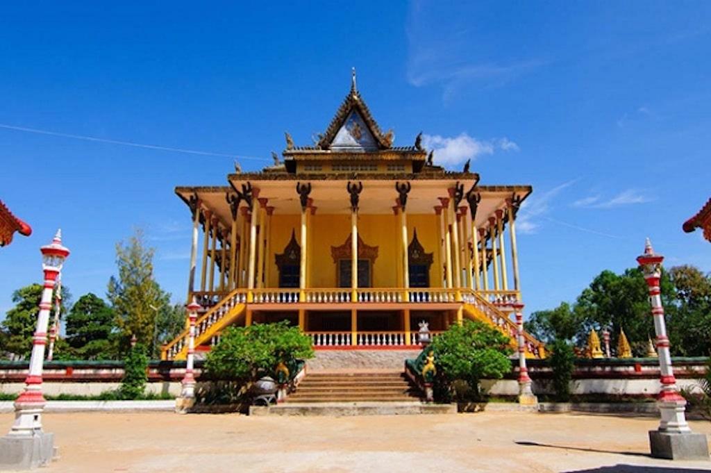 The 100 pillar Pagoda