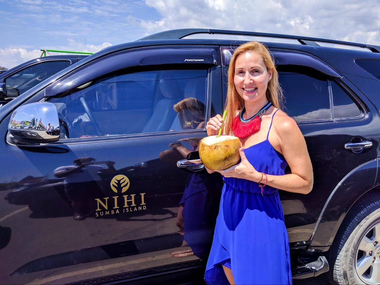 Nihi Sumba Hotel review, Arrival