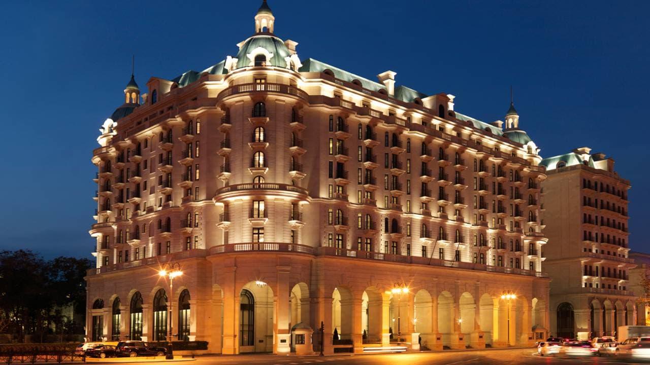 Best luxury hotels in baku azerbaijan including shahdag for Fourseason hotel