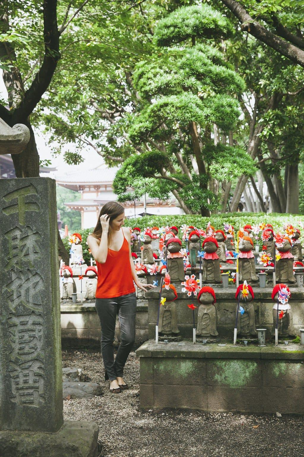 """""""The Garden of Unborn children in Zojoji Temple"""""""
