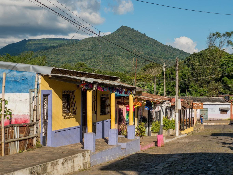 Road in El Salvador