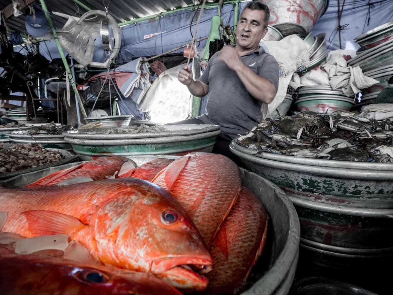 La Libertad Fish Market