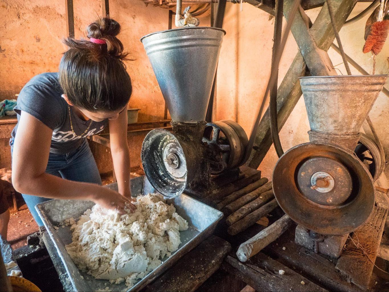 Maize flour in Suchitoto