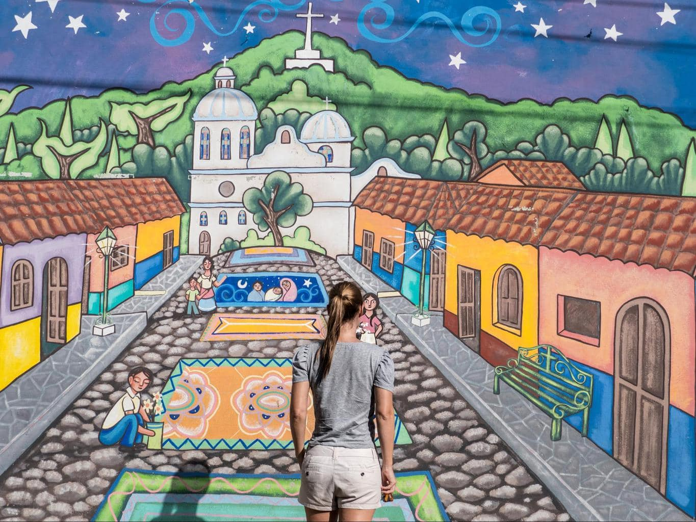 Mural in El Salvador