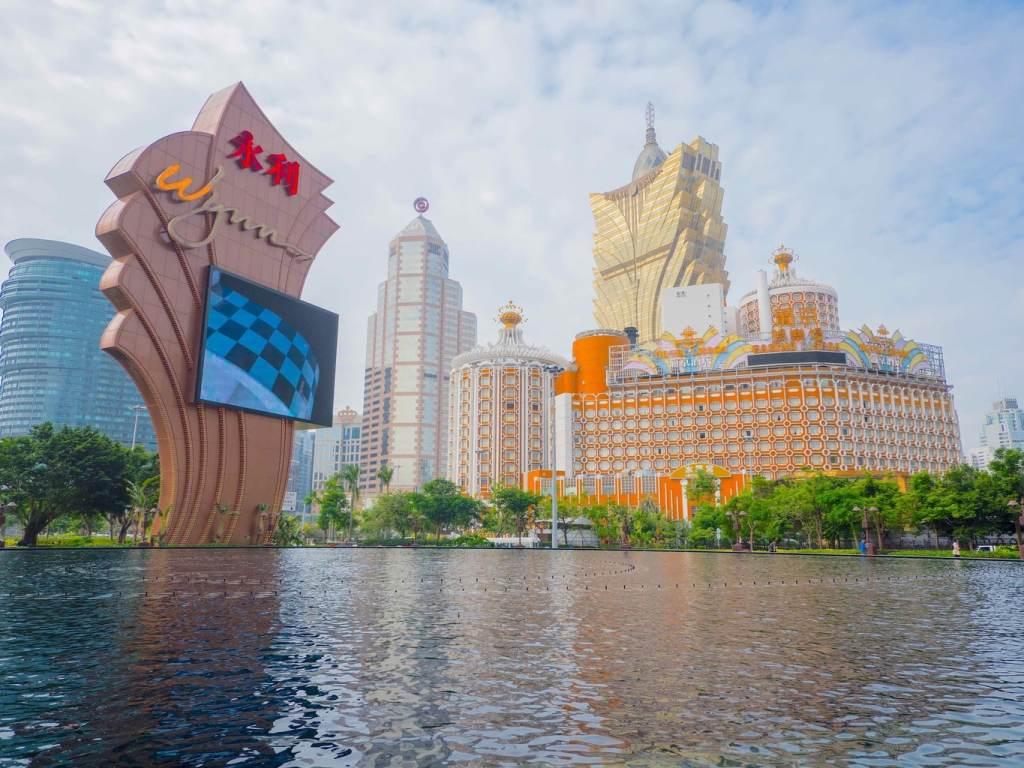 Visiting the Wynn on a day trip to Macau