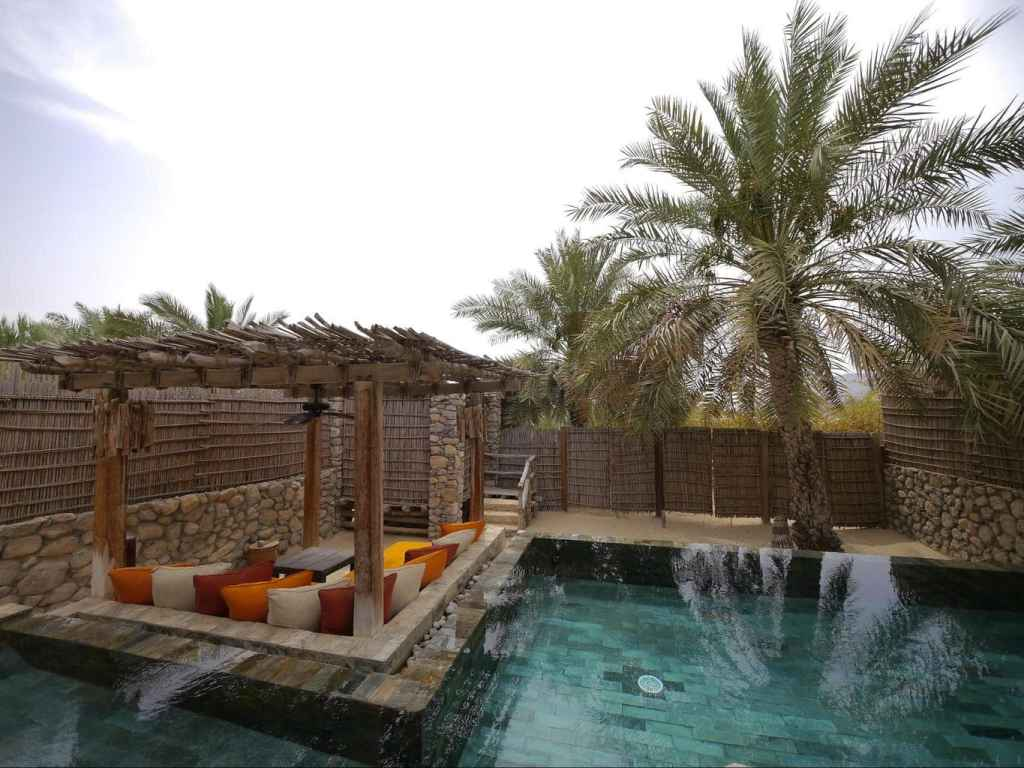 Private villa at Six Senses Zighy Bay