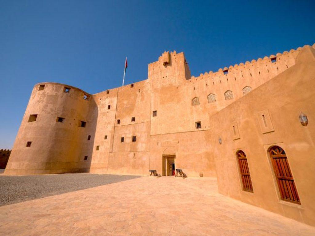 Jabreen Castle Exterior