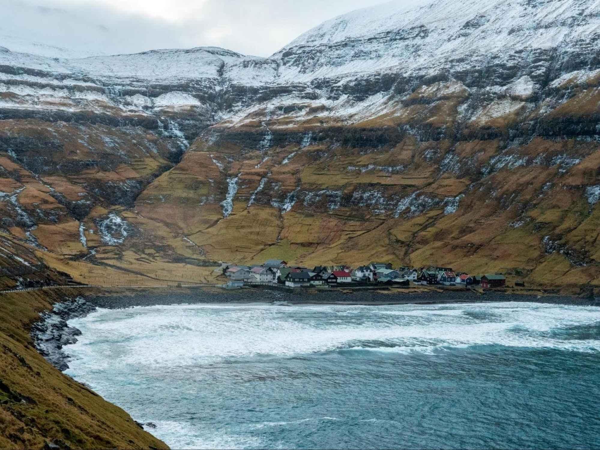 Village of Tjørnuvík