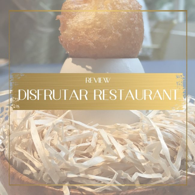 Disfrutar Restaurant Feature