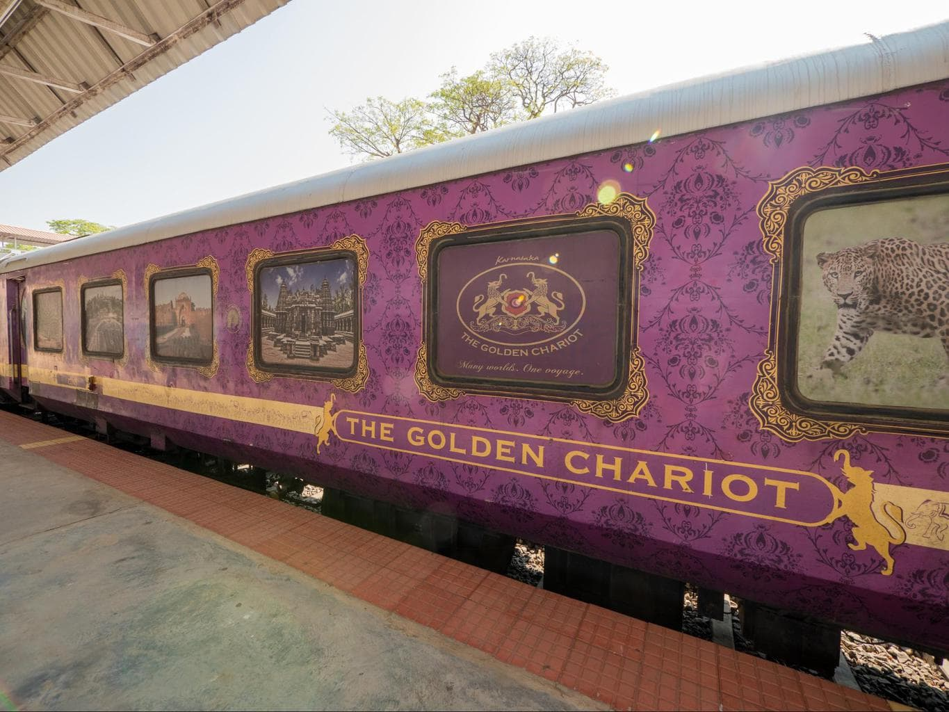 golden chariot train review the only luxury train in south india