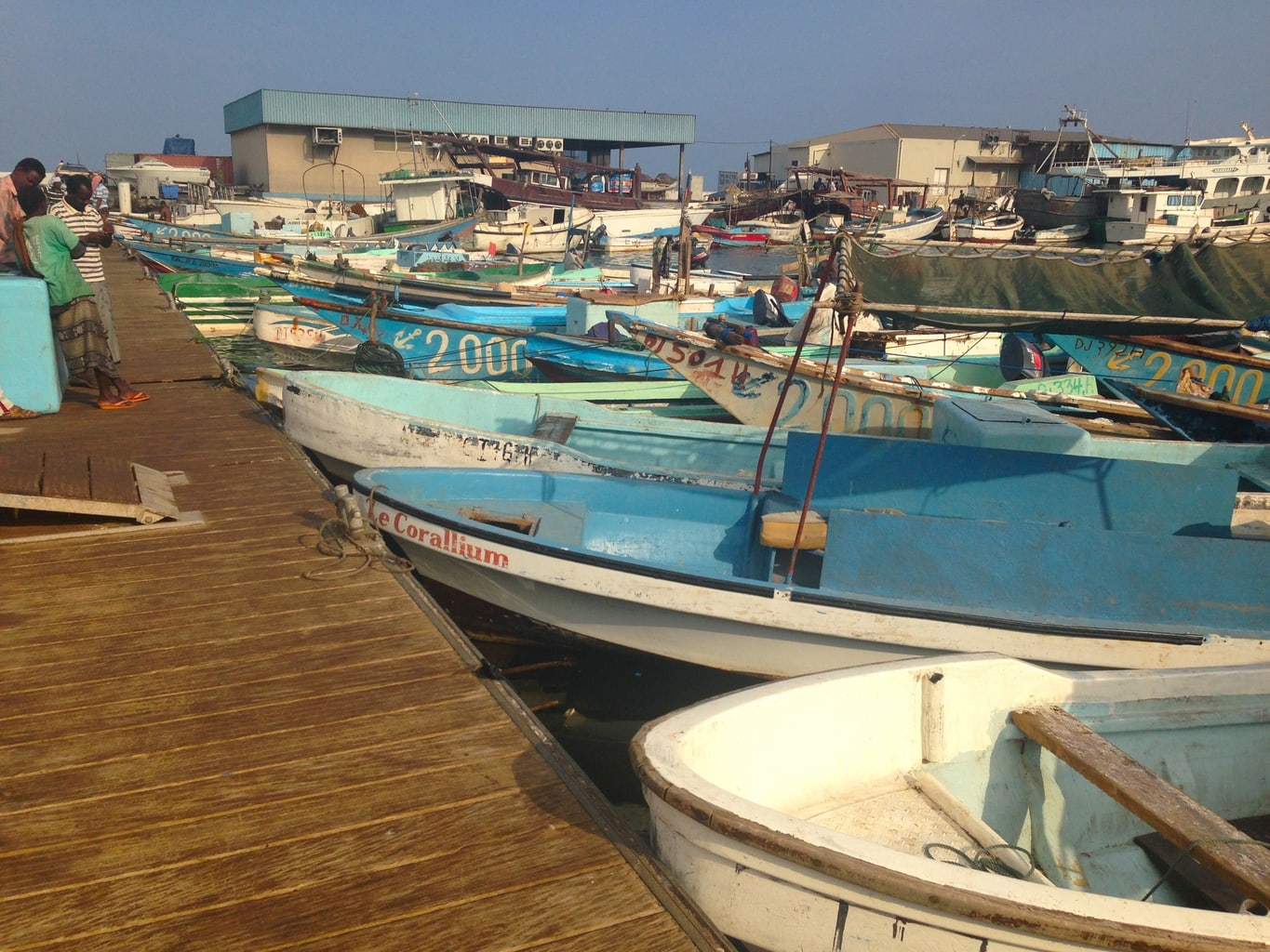 """Fishing boats in Djibouti"""