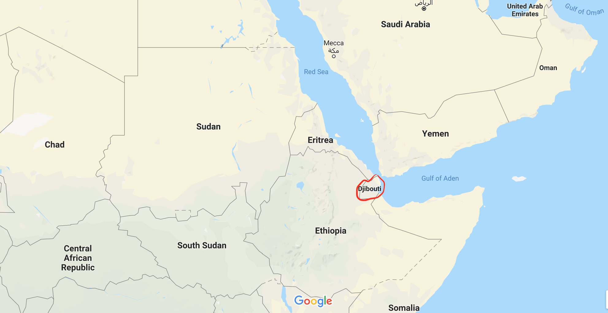 Djibouti On Africa Map.Things To Do In Djibouti And A 4 Day Itinerary