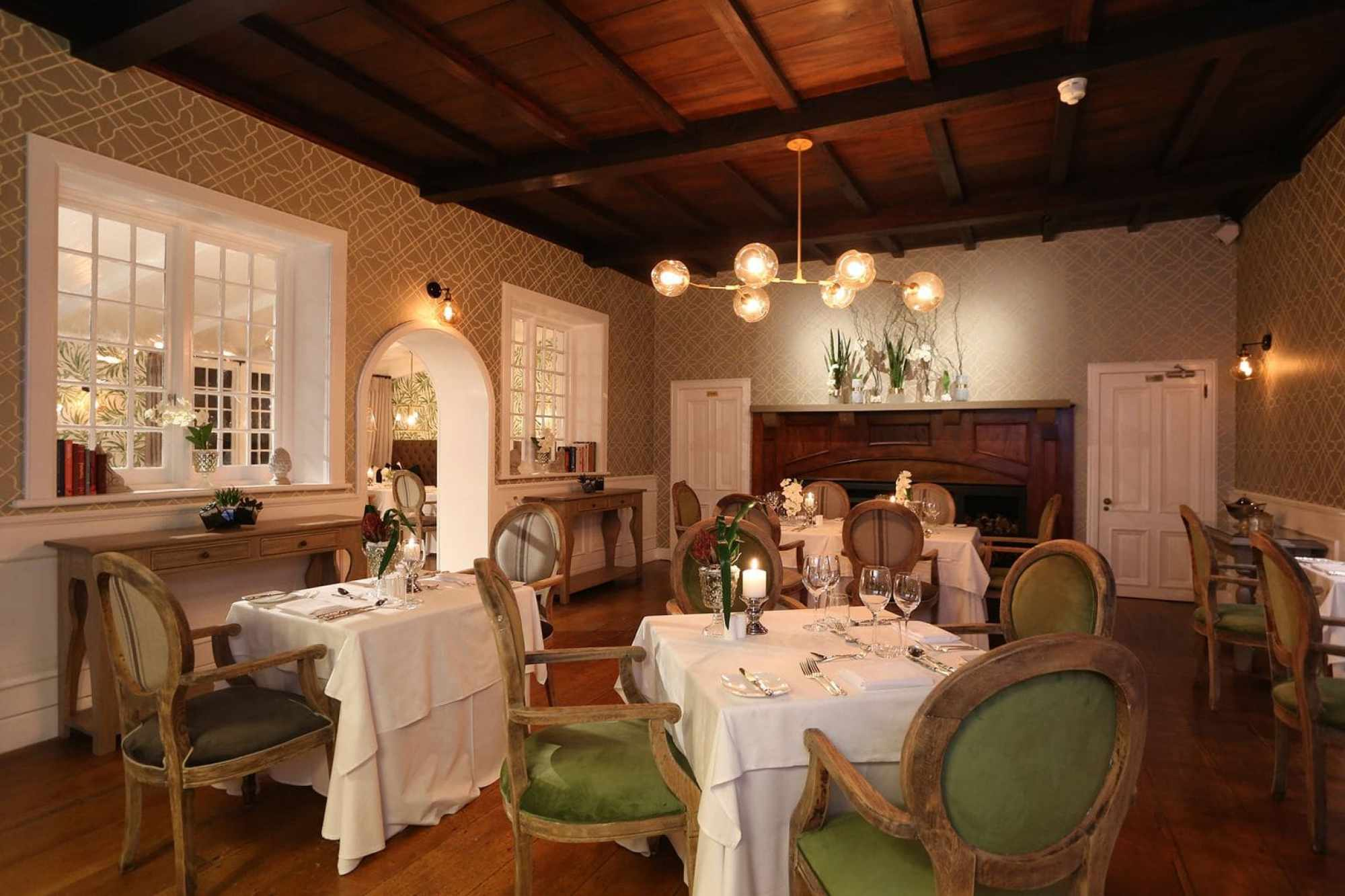 Interior of Henry Whites at Fancourt