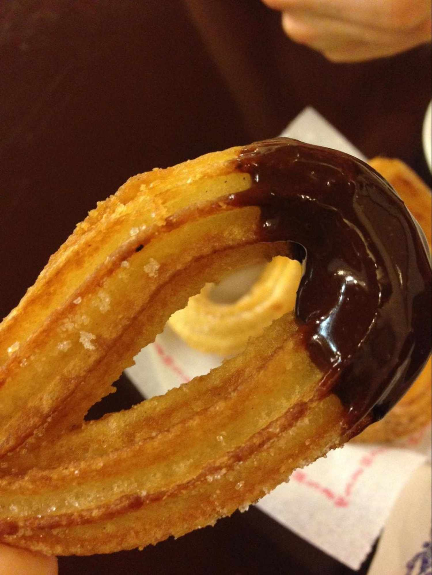Churros from Granja Dulcinea