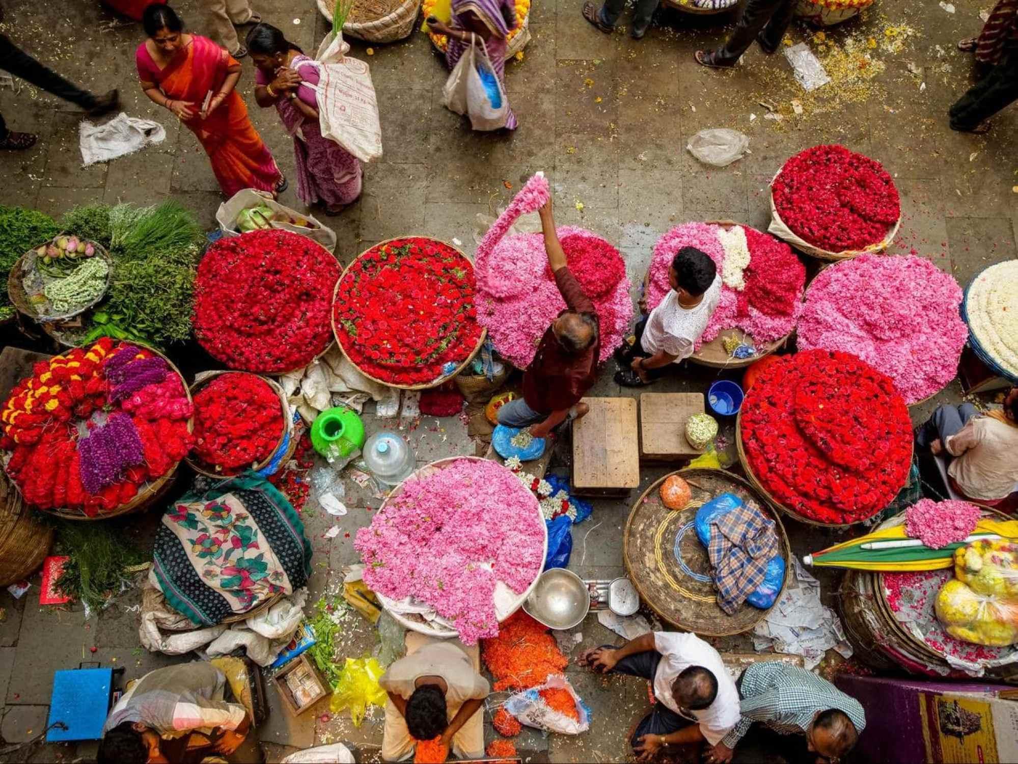 KR market Bangalore