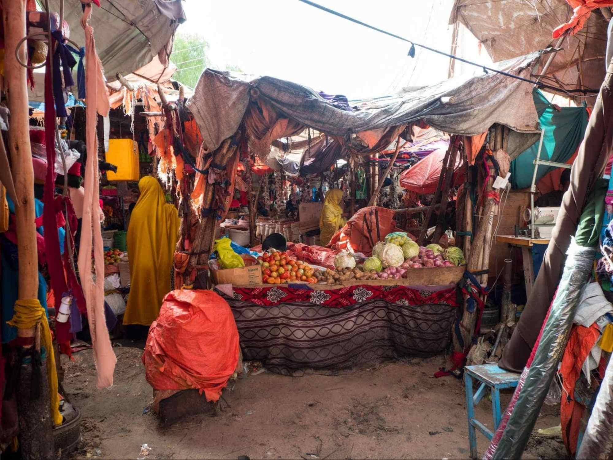 Hargeisa Central Market vendor