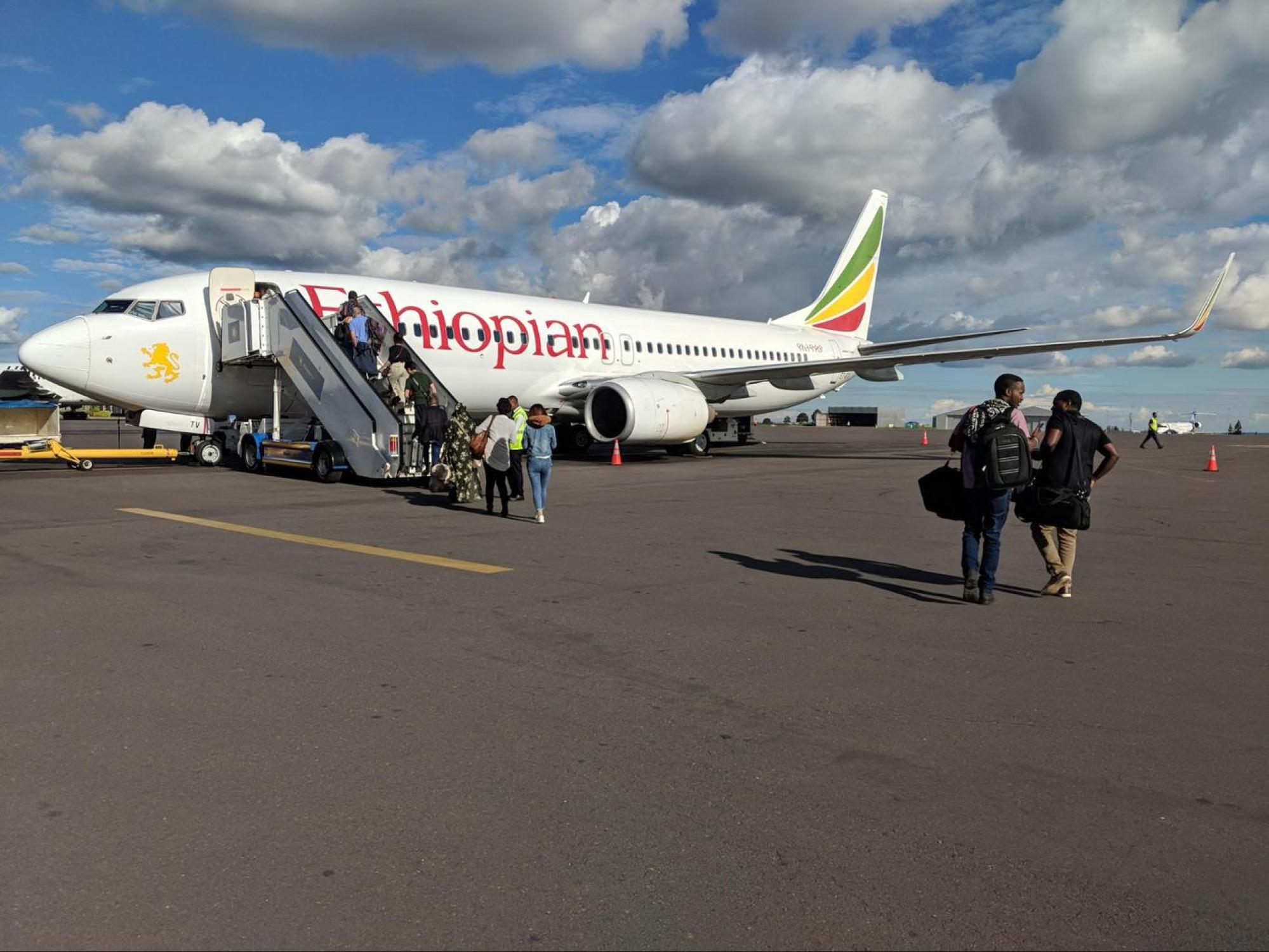 My Boeing 777-300 flight