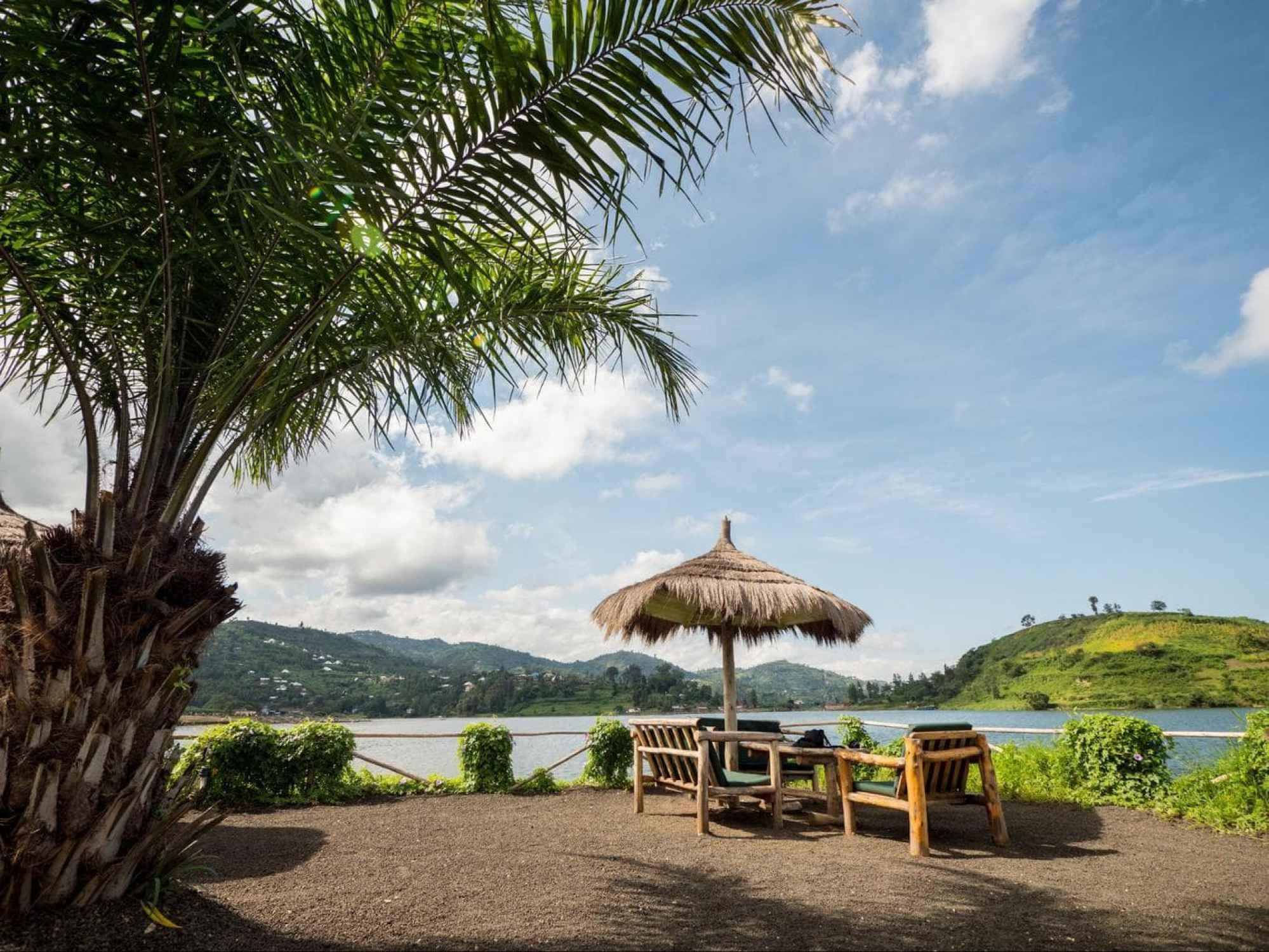 Lake Kivu from Ginsenyi