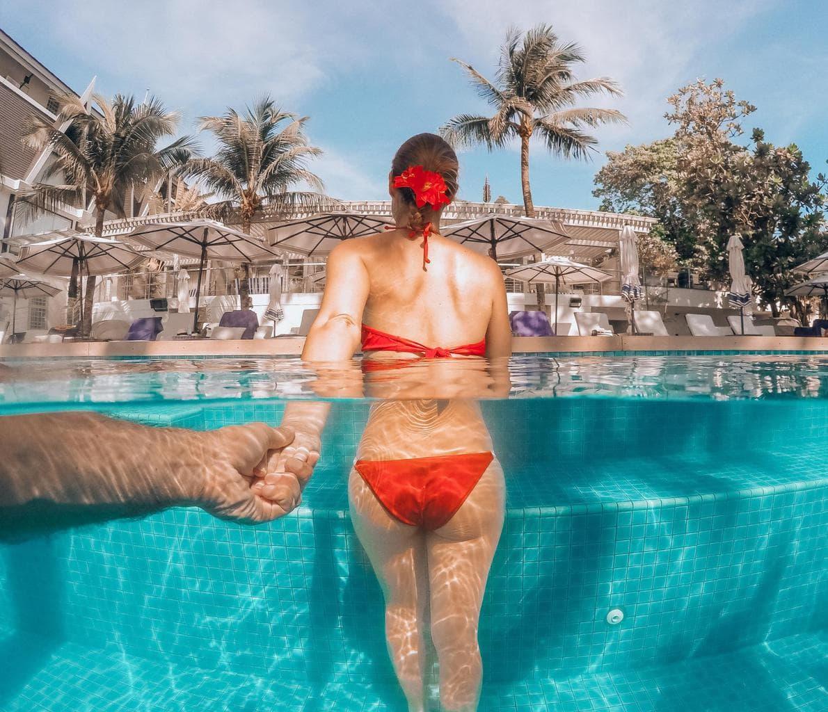 The Boathouse Phuket pool