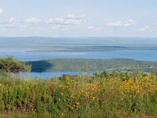 The beautiful landscapes of Akagera National Park