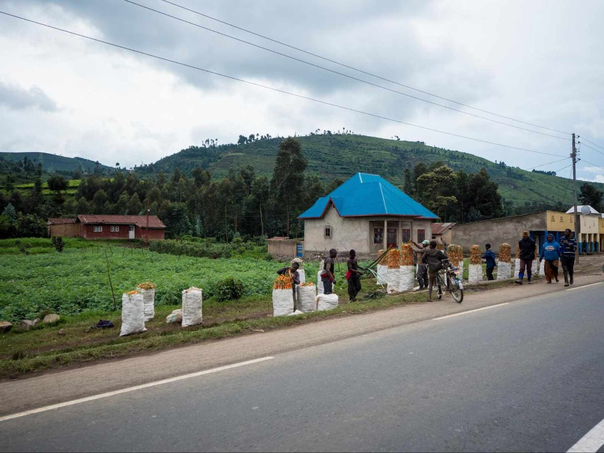 The great infrastructure in Rwanda